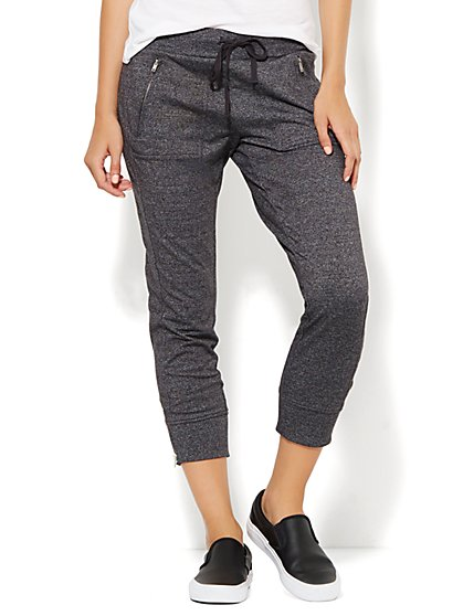 Lounge - Zip-Accent Jogger - New York & Company