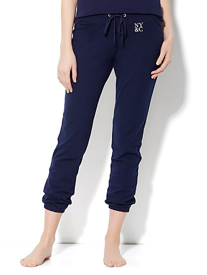 Love, NY&C Collection - Banded-Hem Yoga Pant