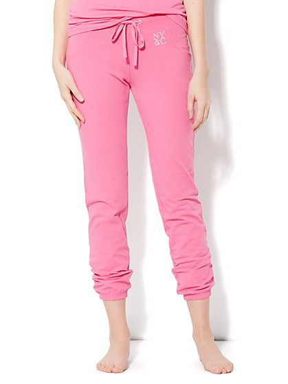 Love, NY&C Collection - Banded-Hem Yoga Pant - New York & Company