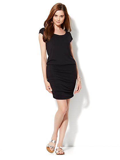 Love, NY&C Collection - Bubble-Hem Dress