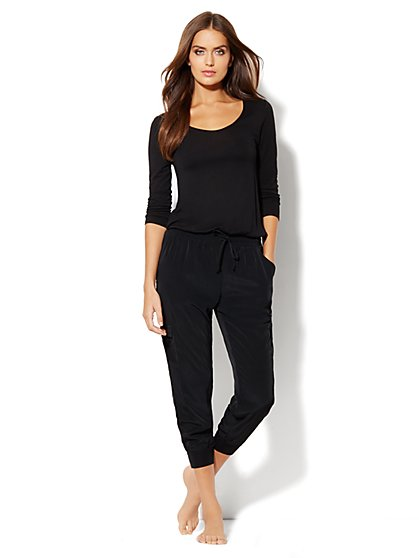Love, NY&C Collection - Cargo Jogger Jumpsuit - New York & Company