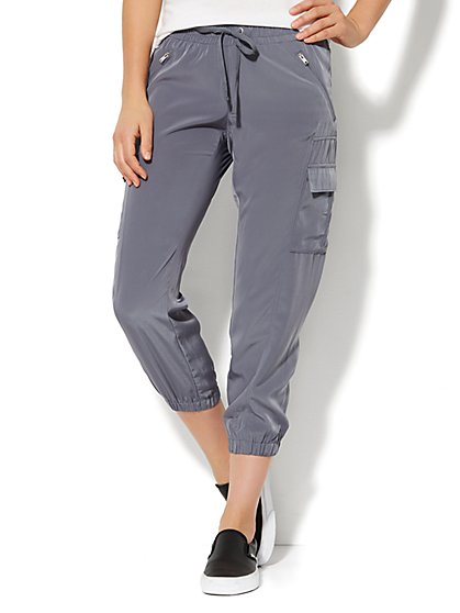 Love, NY&C Collection - Cargo Soft Jogger  - New York & Company