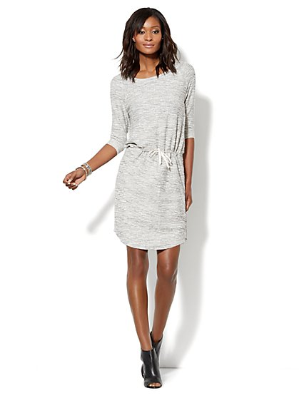 Love, NY&C Collection - Cotton-Blend Shirttail Dress