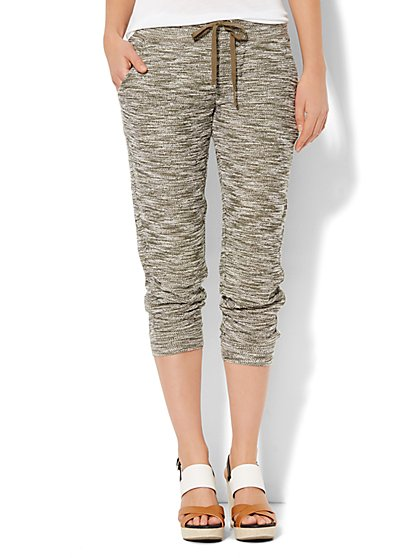 Love, NY&C Collection - Crop Knit Jogger  - New York & Company