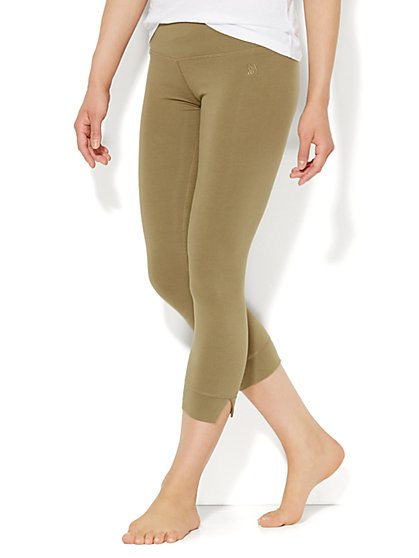 Love, NY&C Collection - Crop Legging - Heathered  - New York & Company