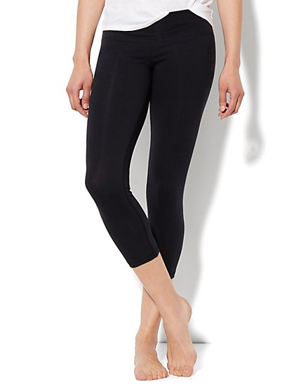 Love, NY&C Collection - Crop Legging - Solid
