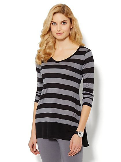 Love, NY&C Collection - Elliptical-Hem Tunic