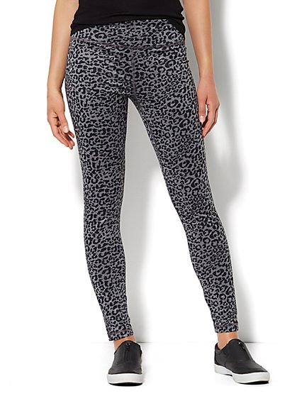 Love, NY&C Collection - Envy Animal-Print Legging - New York & Company