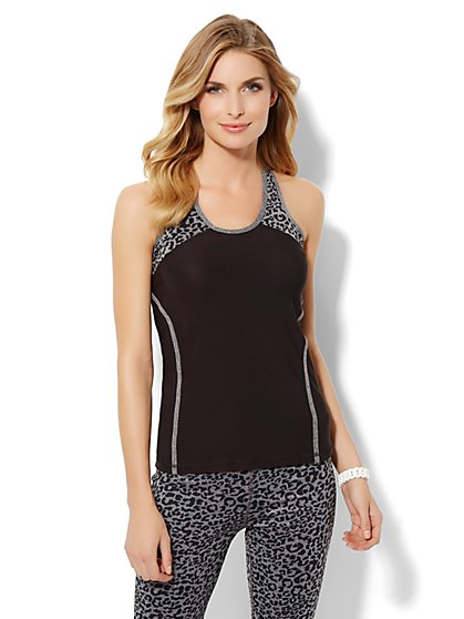 Love, NY&C Collection - Envy Animal-Print Tank Top - New York & Company