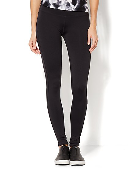 Love, NY&C Collection - Envy Legging - Solid Black  - New York & Company