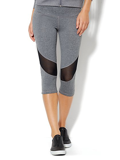 Love, NY&C Collection - Envy Mesh Crop Legging