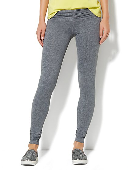 Love, NY&C Collection - Envy Shirred Legging - New York & Company