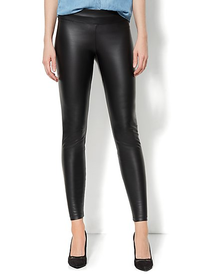 Love, NY&C Collection - Faux-Leather Legging  - New York & Company