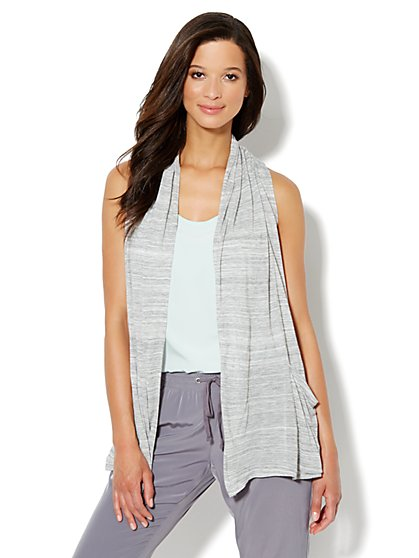 Love, NY&C Collection - Flyaway Jaspe Cardigan