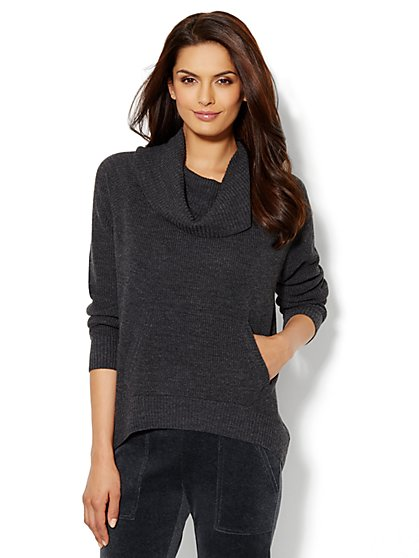 Love, NY&C Collection - Funnel-Neck Sweater - New York & Company