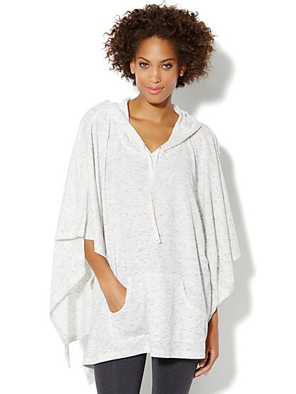 Love, NY&C Collection - Hooded Poncho - New York & Company