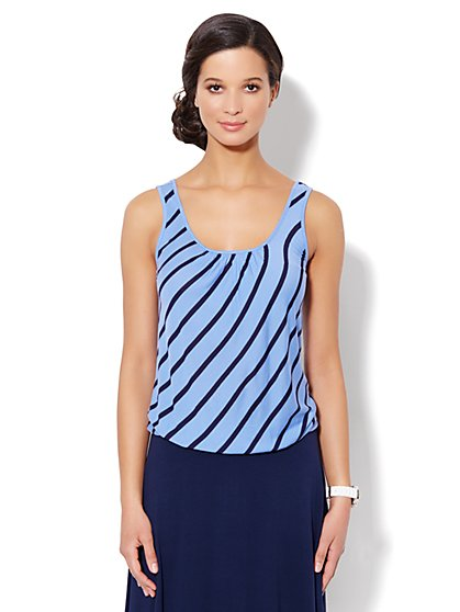 Love, NY&C Collection - Jaspé Tank - Stripe