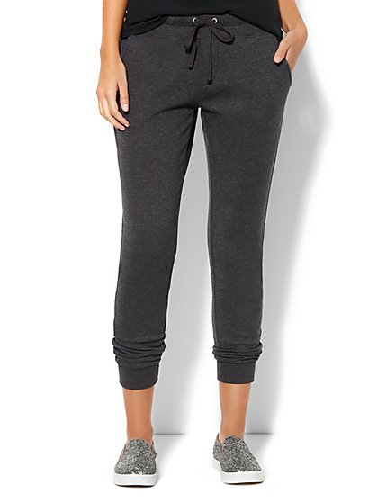 Love, NY&C Collection Jogger - Boyfriend - Solid  - New York & Company