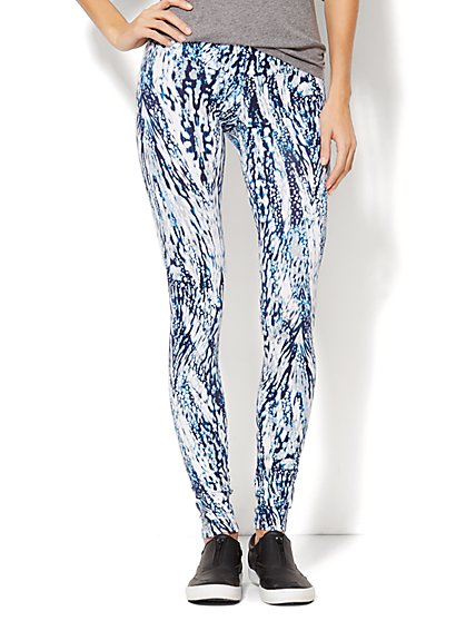 Love, NY&C Collection - Legging - Abstract Print  - New York & Company