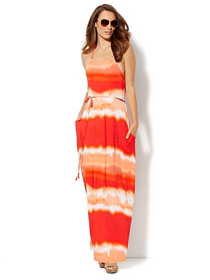 Love, NY&C Collection - Maxi Halter Dress  - New York & Company