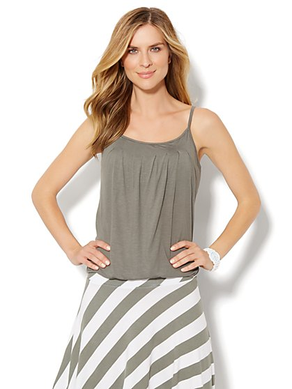 Love, NY&C Collection - Pleat-Neck Cami