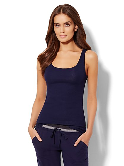 Love, NY&C Collection - Ribbed Tank Top  - New York & Company