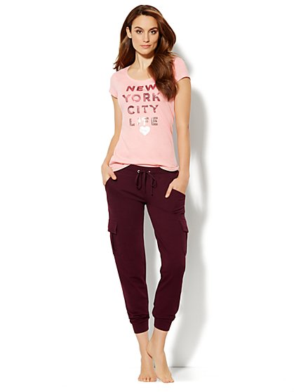 Love, NY&C Collection - Sequin Tee Shirt