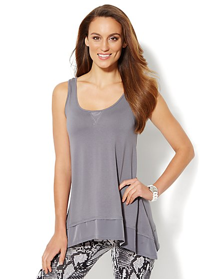 Love, NY&C Collection - Sharkbite Tank Top  - New York & Company