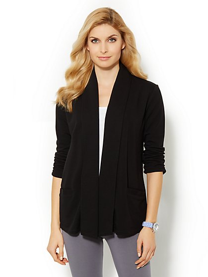 Love, NY&C Collection - Shawl-Collar Cardigan