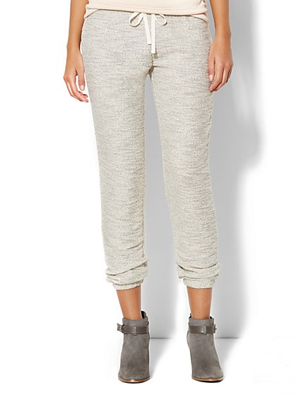 Love, NY&C Collection - Shimmer Jogger Sweatpant  - New York & Company