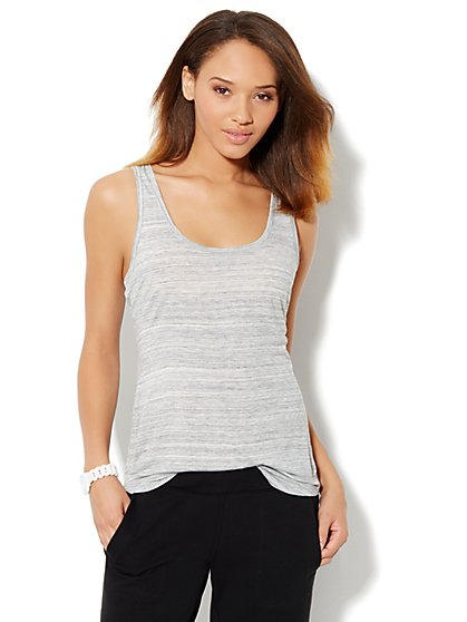 Love, NY&C Collection - Shirttail Tank Top - New York & Company