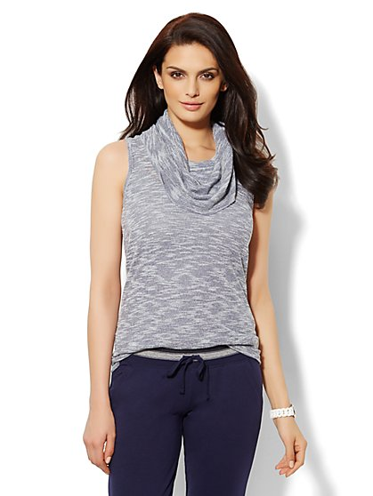 Love, NY&C Collection - Sleeveless Cowl-Neck Sweater   - New York & Company