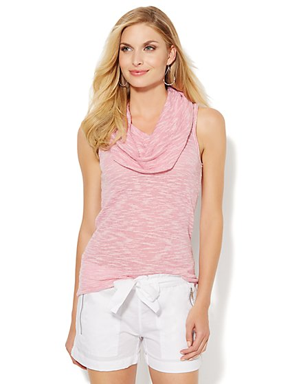 Love, NY&C Collection - Sleeveless Cowl-Neck Top - New York & Company