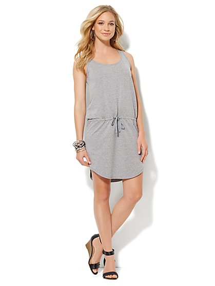 Love, NY&C Collection - Sleeveless Drawstring Dress - New York & Company