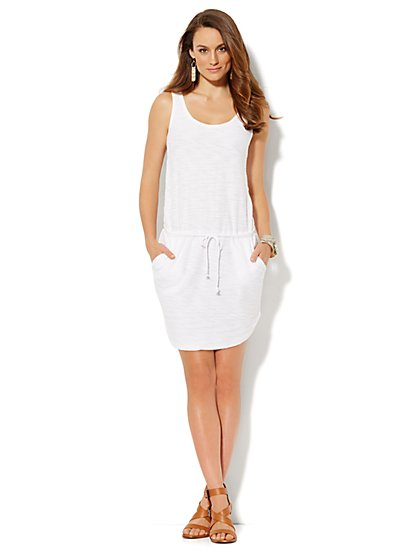 Love, NY&C Collection - Sleeveless Dress - Solid  - New York & Company