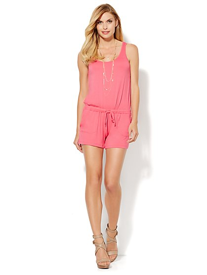 Love, NY&C Collection - Sleeveless Romper  - New York & Company