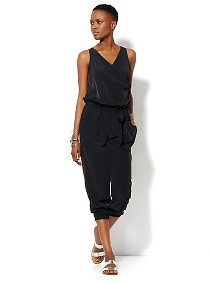 Love, NY&C Collection - Sleeveless Silky Jumpsuit - New York & Company