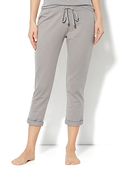 Love, NY&C Collection - Slim Slouch Roll-Cuff Crop Pant - New York & Company
