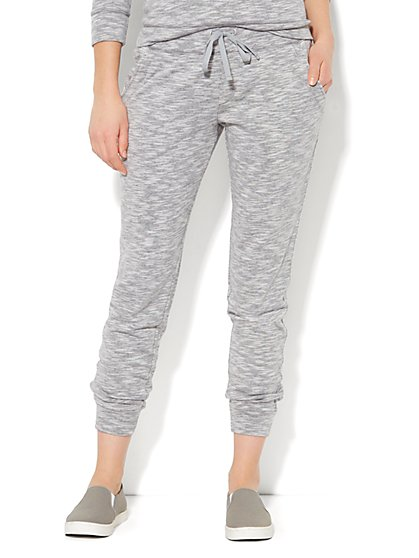 Love, NY&C Collection - Space-Dyed Boyfriend Jogger - New York & Company