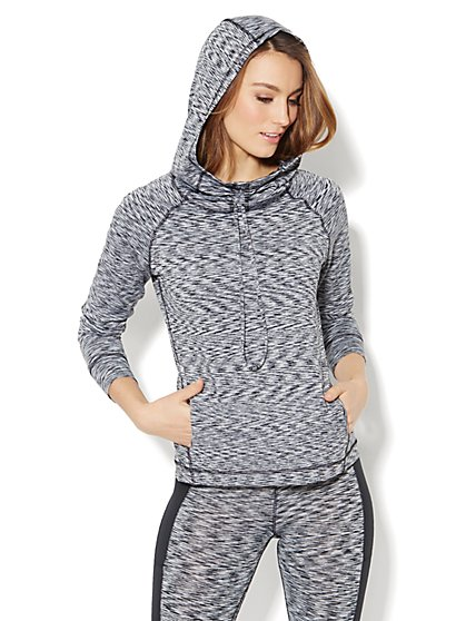 Love, NY&C Collection - Space-Dyed Hoodie - New York & Company