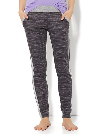 Love, NY&C Collection - Space-Dyed Sweatpant - Almost Black