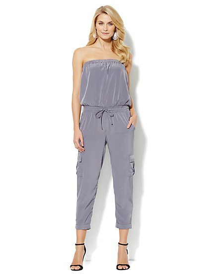 Love, NY&C Collection - Strapless Jumpsuit