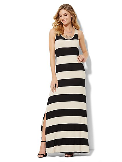 Love, NY&C Collection - Striped Maxi Dress - New York & Company