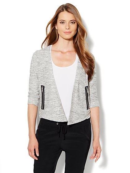 Love, NY&C Collection - Textured Cardigan - New York & Company
