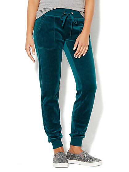 Love, NY&C Collection - Velour Jogger Pant - New York & Company