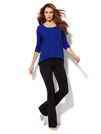 Love, NY&C Collection - Woven-Front Top - New York & Company