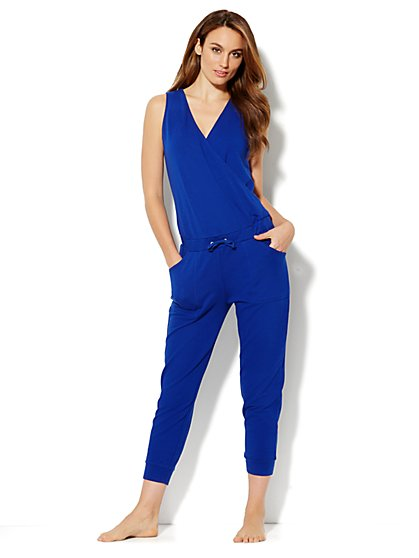 Love, NY&C Collection - Wrap Cotton Jumpsuit - New York & Company