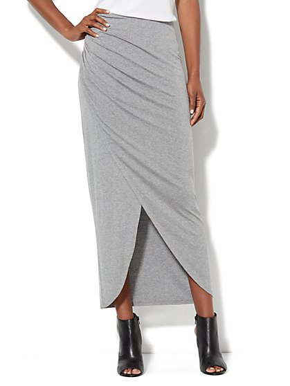 Love, NY&C Collection - Wrap Stretch Skirt - New York & Company