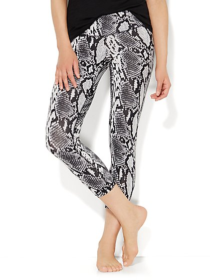 Love, NY&C Collection - Yoga Legging - Snake Print  - New York & Company
