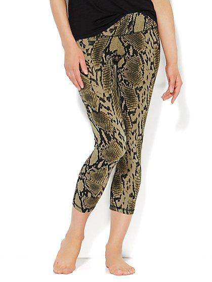 Love, NY&C Collection - Yoga Legging - Snake Print  - New York & Company